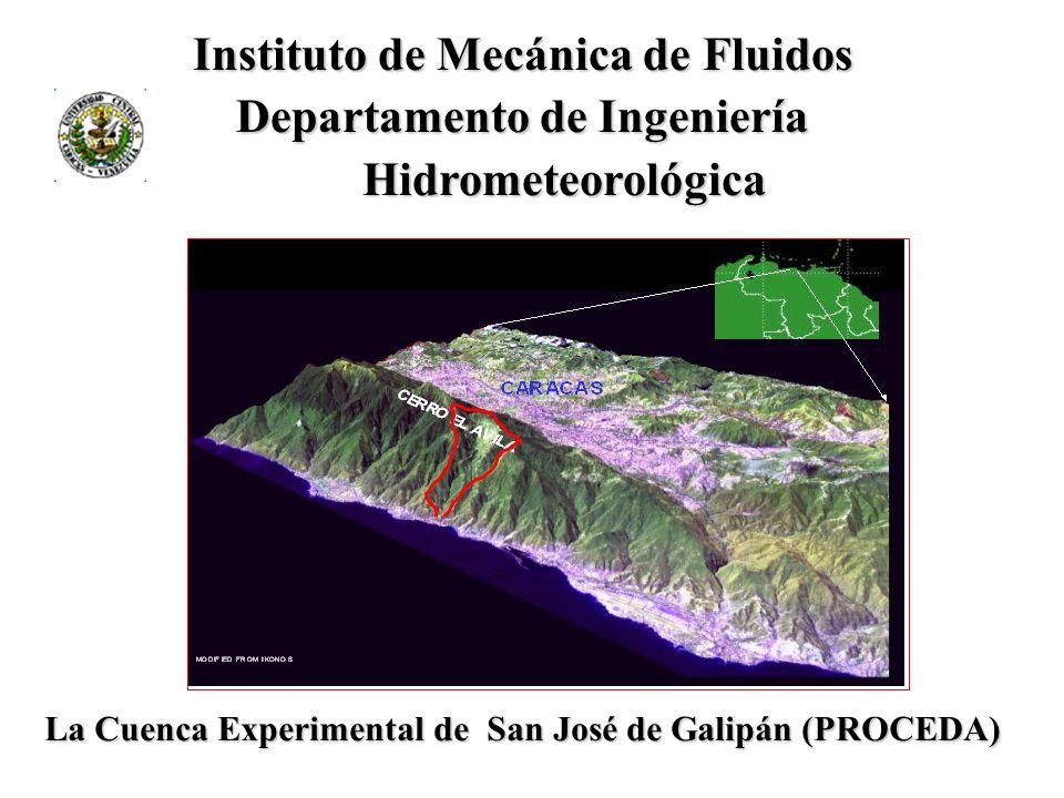 Instituto de Mecánica de Fluidos Departamento de Ingeniería