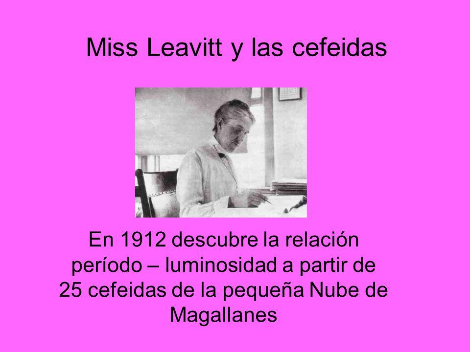 Miss Leavitt y las cefeidas