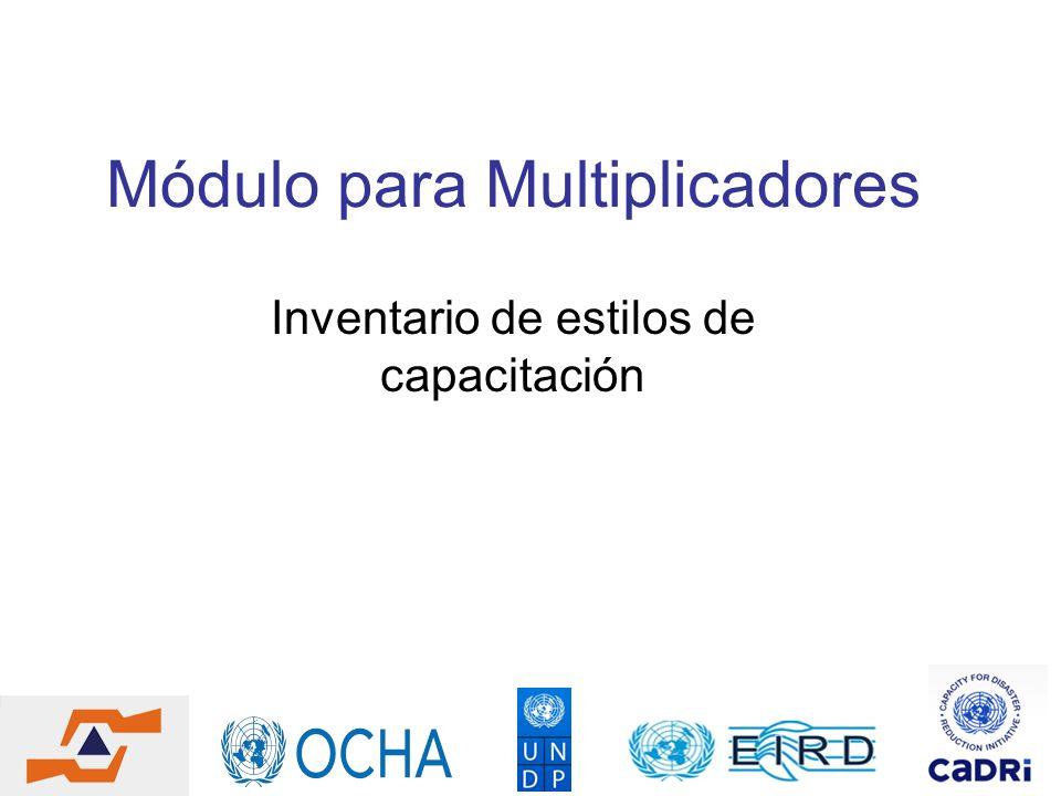 Módulo para Multiplicadores