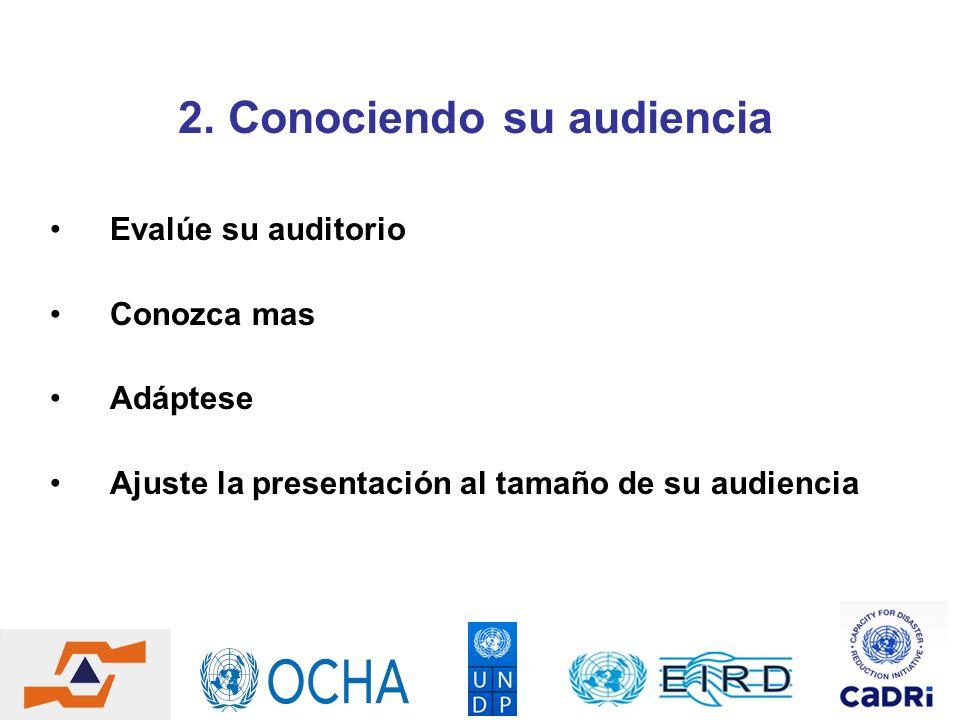 2. Conociendo su audiencia