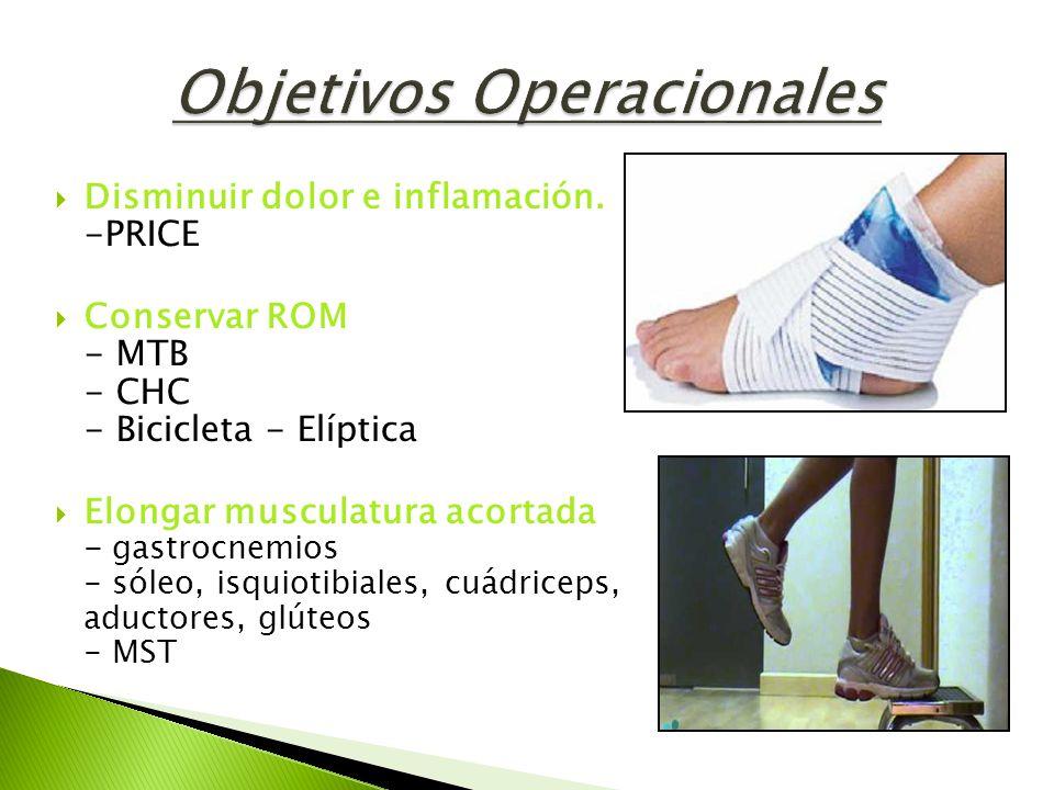 Objetivos Operacionales