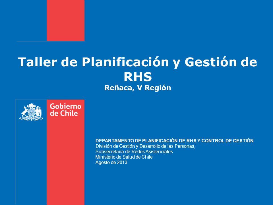 Taller de Planificación y Gestión de RHS Reñaca, V Región