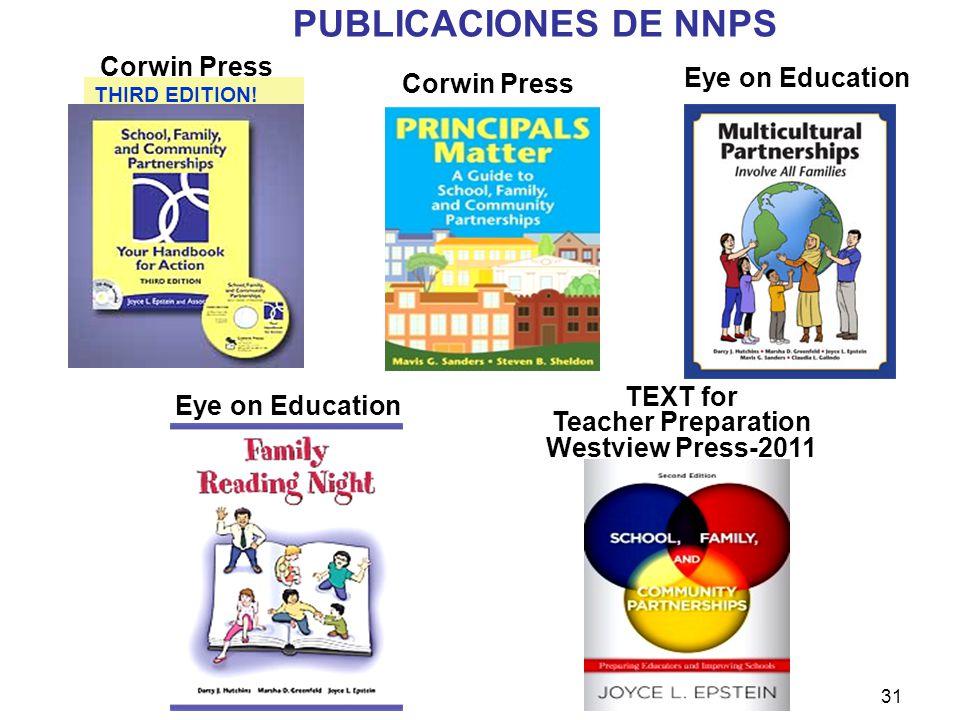 PUBLICACIONES DE NNPS Corwin Press Corwin Press Eye on Education