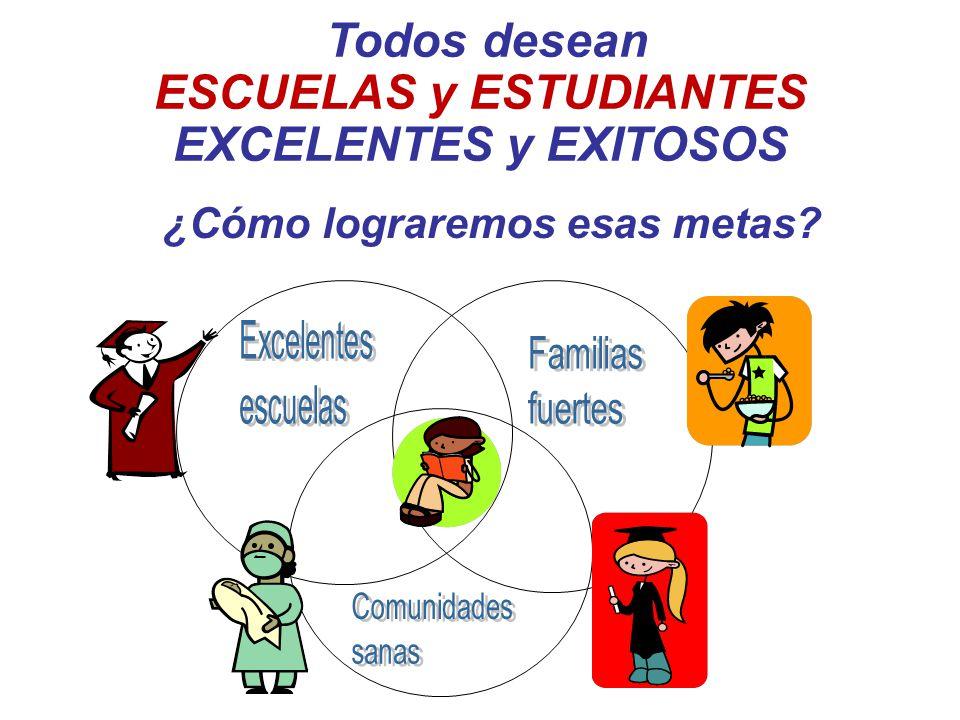 ESCUELAS y ESTUDIANTES EXCELENTES y EXITOSOS