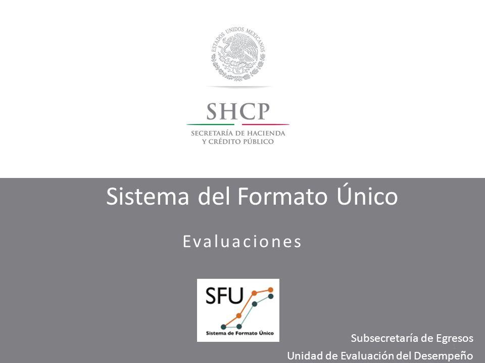 Sistema del Formato Único
