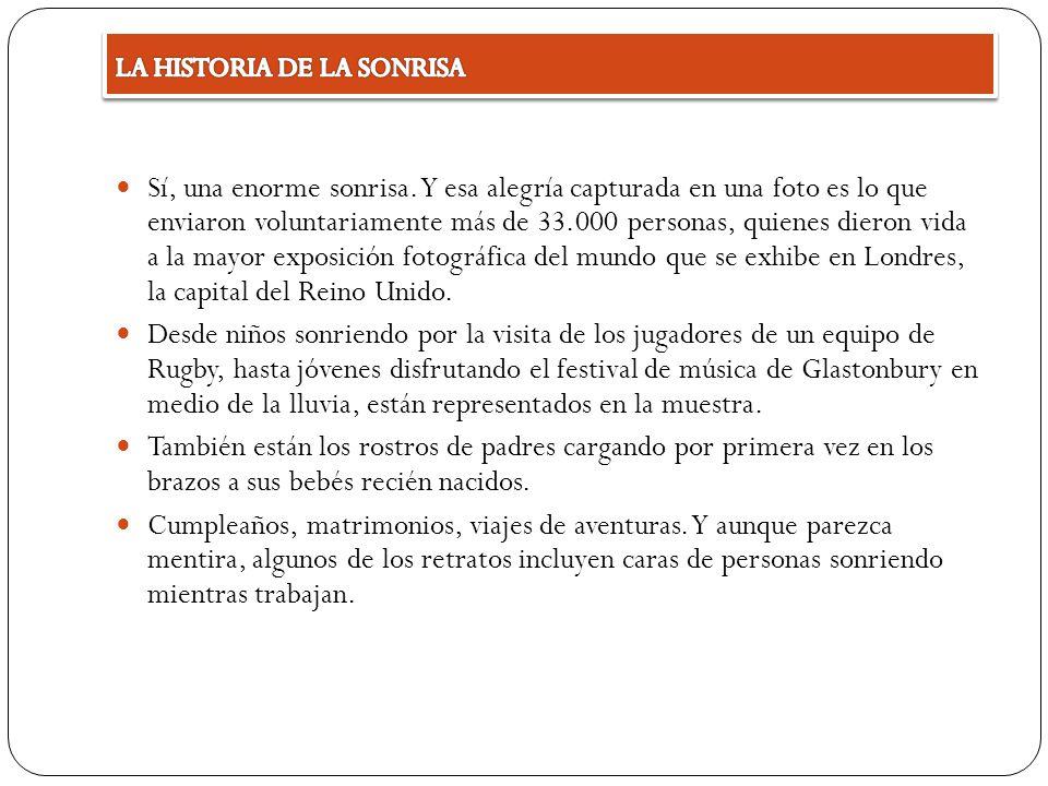 LA HISTORIA DE LA SONRISA