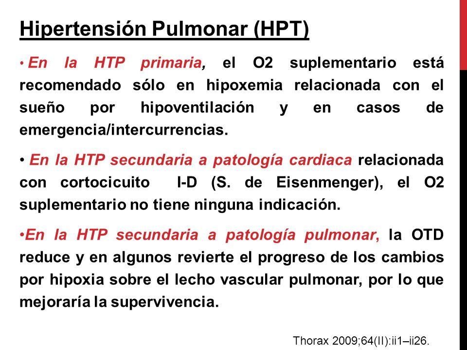Hipertensión Pulmonar (HPT)