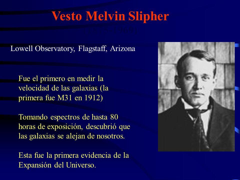 Vesto Melvin Slipher (1875-1969)