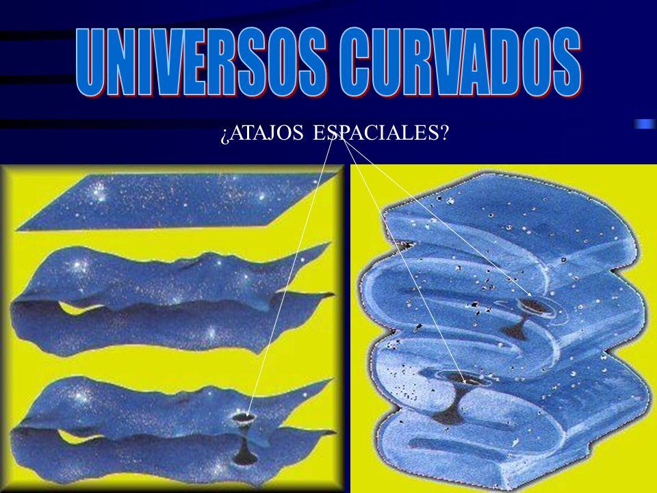 UNIVERSOS CURVADOS ¿ATAJOS ESPACIALES
