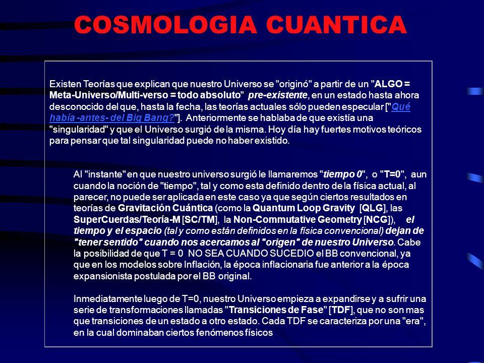COSMOLOGIA CUANTICA