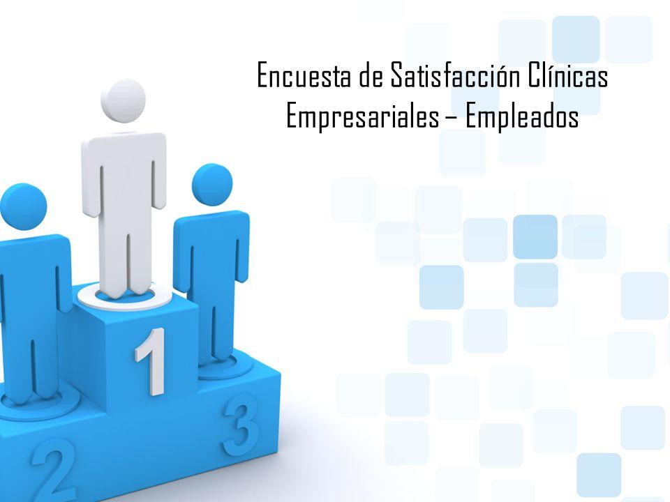Encuesta de Satisfacción Clínicas Empresariales – Empleados