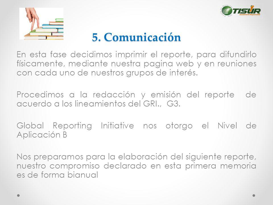 5. Comunicación