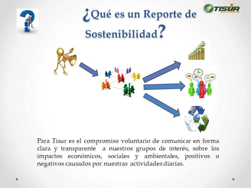 ¿Qué es un Reporte de Sostenibilidad