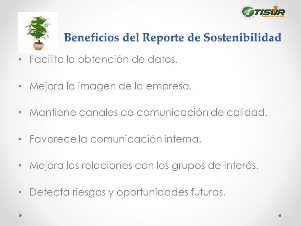 Beneficios del Reporte de Sostenibilidad