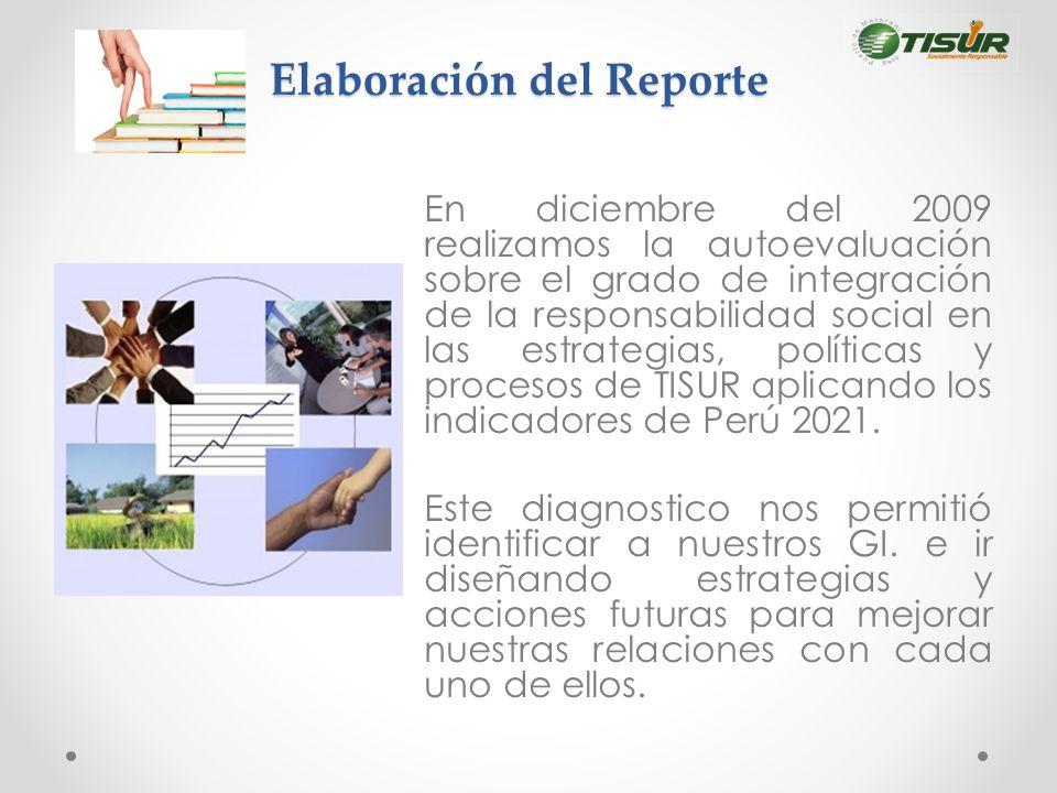 Elaboración del Reporte