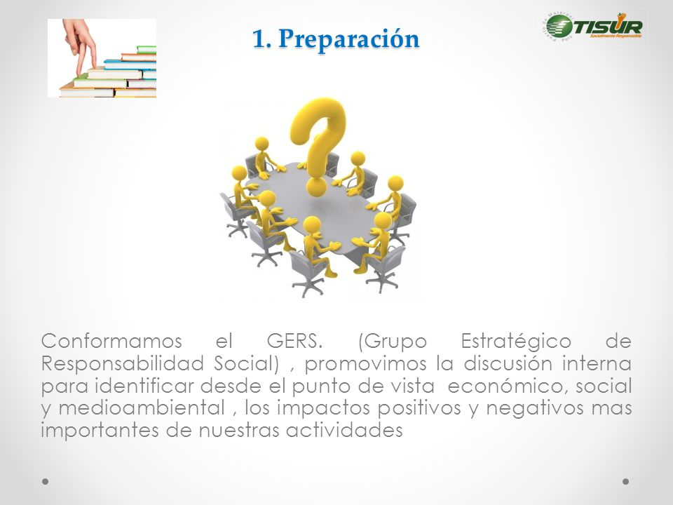 1. Preparación