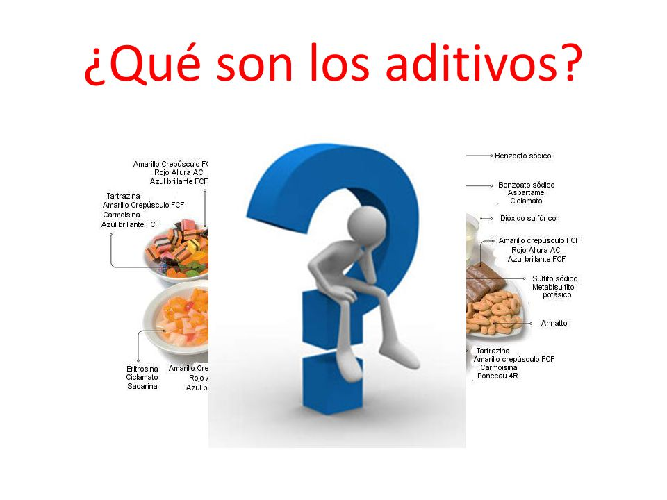 ¿Qué son los aditivos
