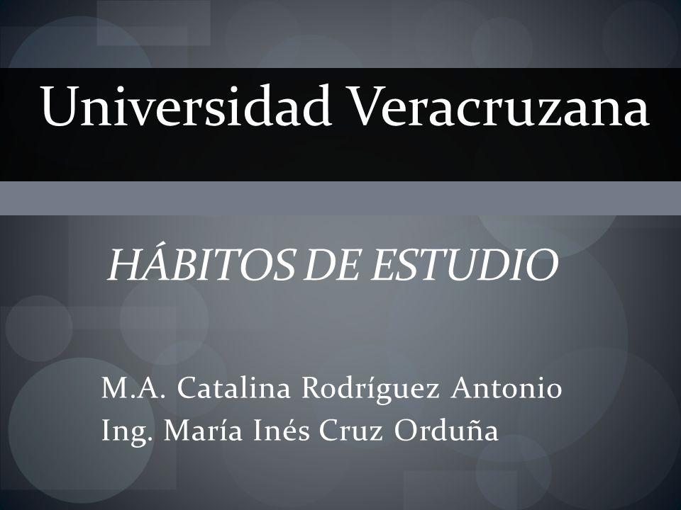 M.A. Catalina Rodríguez Antonio Ing. María Inés Cruz Orduña