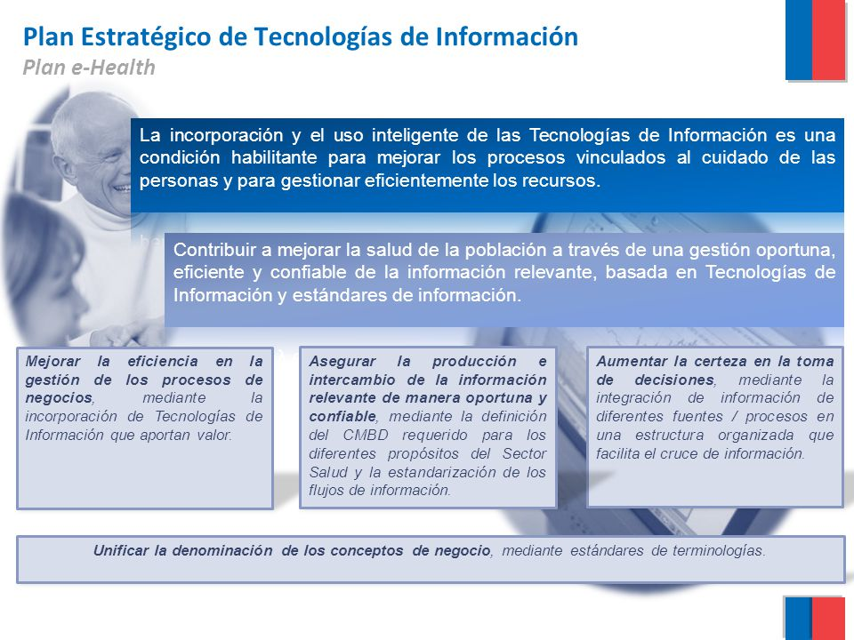 Plan Estratégico de Tecnologías de Información Plan e-Health