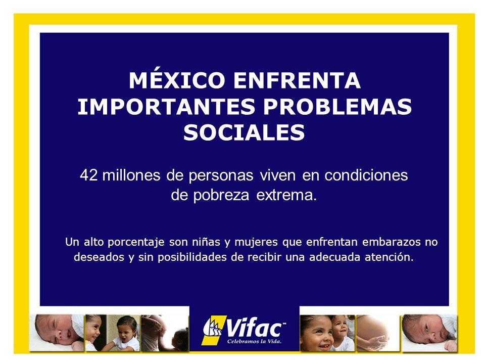 MÉXICO ENFRENTA IMPORTANTES PROBLEMAS SOCIALES