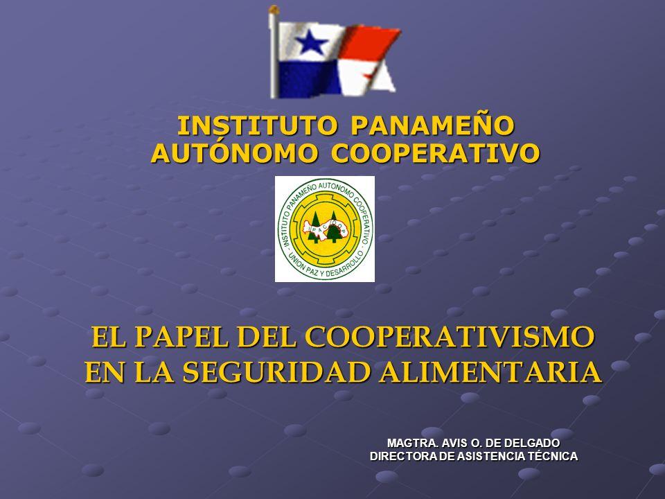 EL PAPEL DEL COOPERATIVISMO EN LA SEGURIDAD ALIMENTARIA