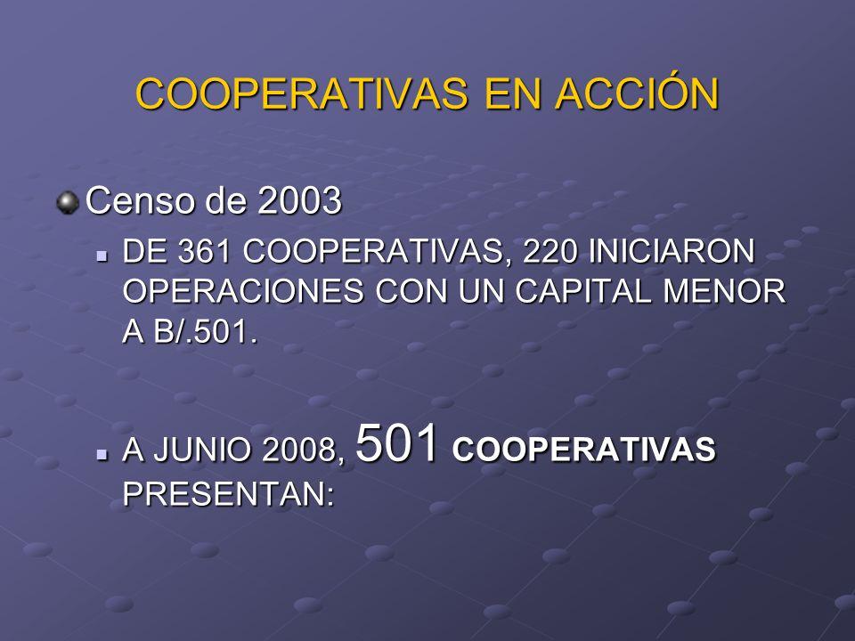 COOPERATIVAS EN ACCIÓN