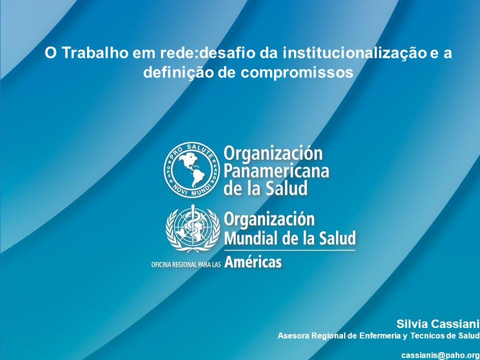 Sumário OPS- Missão e Plano Estratégico Redes – rede de enfermería