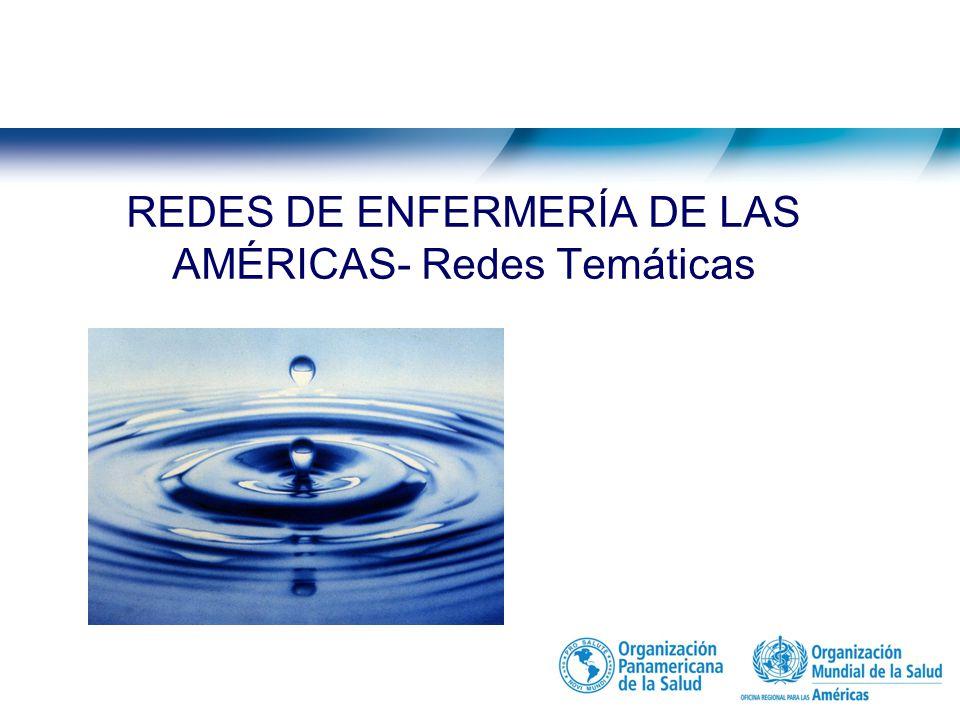 Redes de Enfermería Pan American Network of Nursing and Midwifery Collaborating Centers. Red Internacional de enfermería en emergencias y desastres.