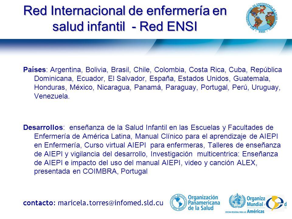 Red Internacional de enfermería en salud materno- neonatal - Red SAMANEO