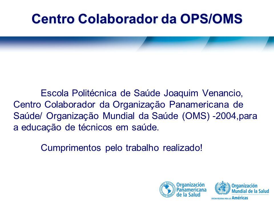 Misión Organización Panamericana de Salud