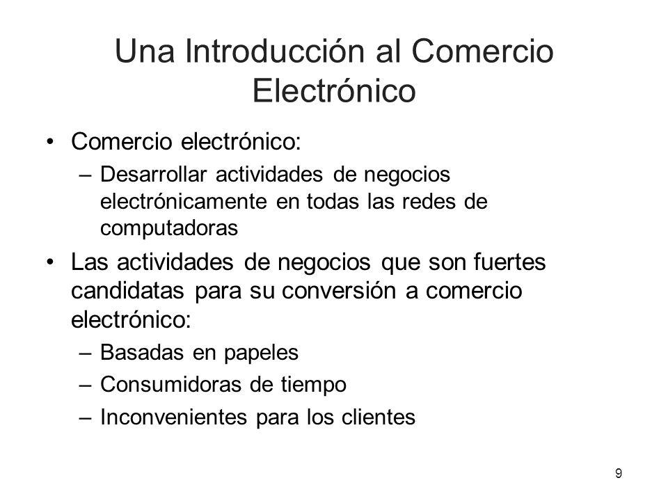 Una Introducción al Comercio Electrónico