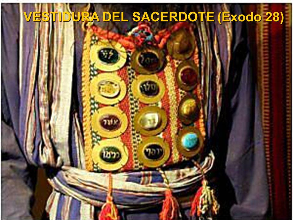 VESTIDURA DEL SACERDOTE (Exodo 28)