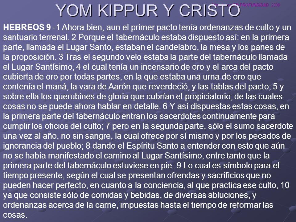YOM KIPPUR Y CRISTO