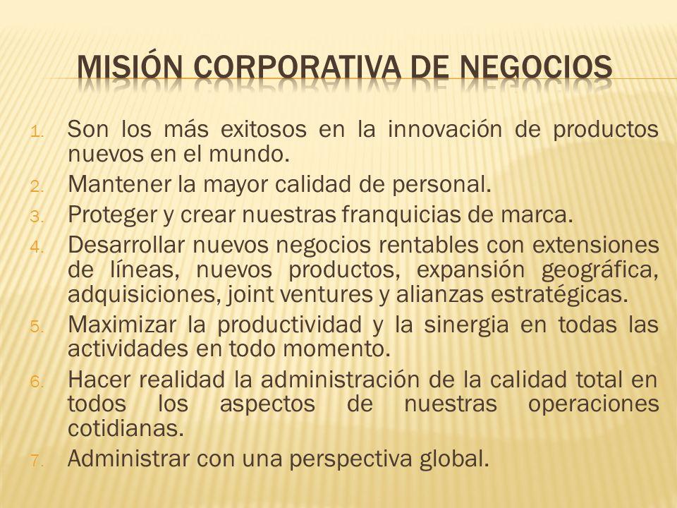 MISIÓN CORPORATIVA DE NEGOCIOs