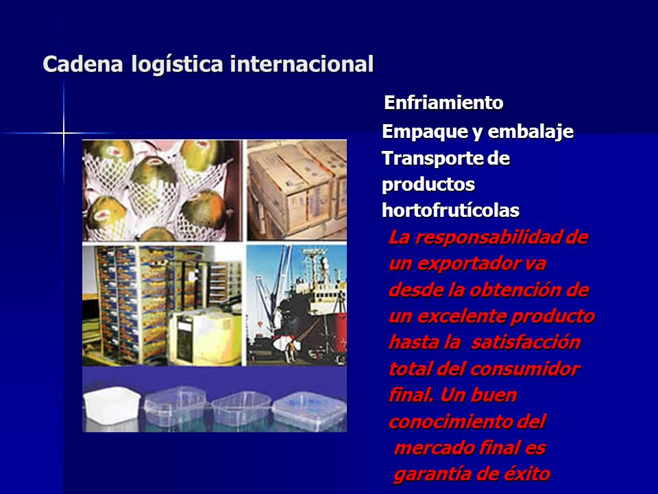 Cadena logística internacional
