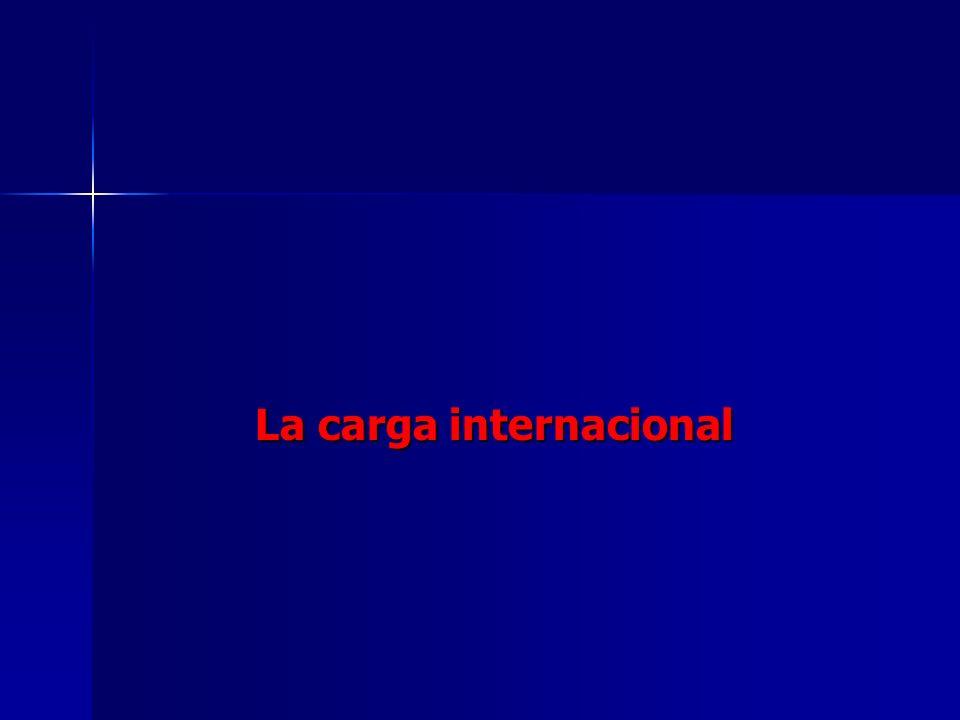 La carga internacional