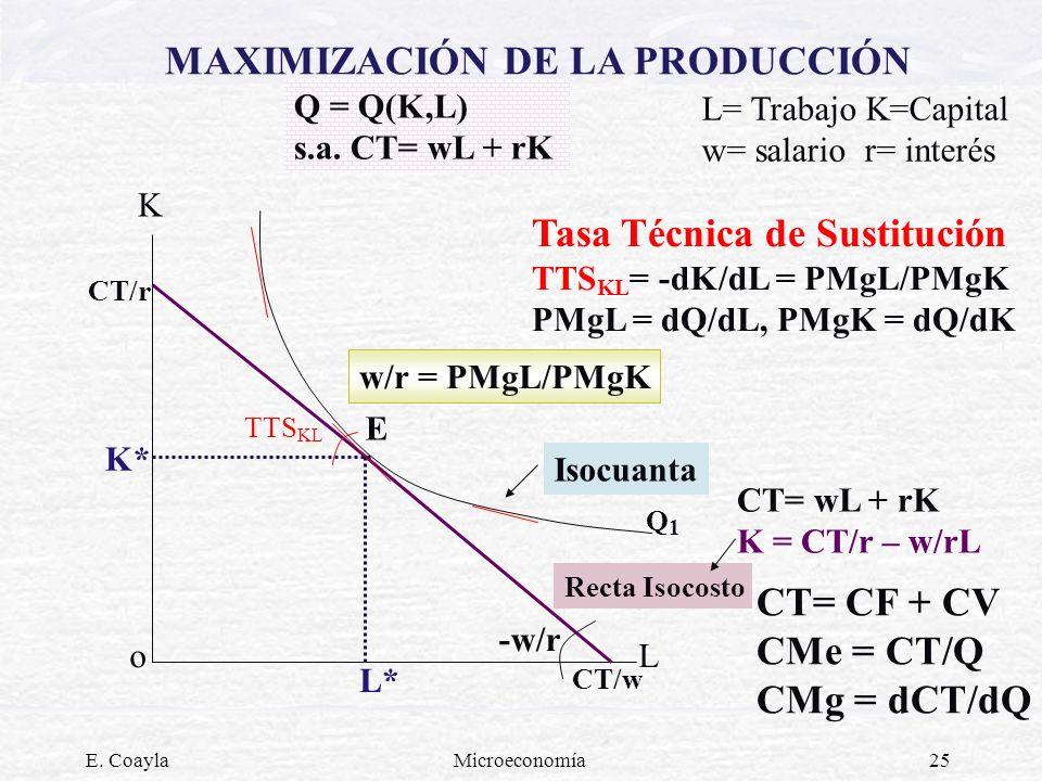 MAXIMIZACIÓN DE LA PRODUCCIÓN
