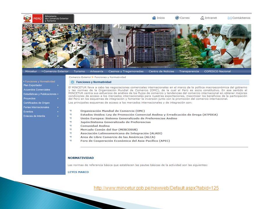 http://www.mincetur.gob.pe/newweb/Default.aspx tabid=125