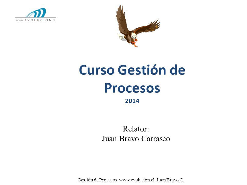 Curso Gestión de Procesos 2014