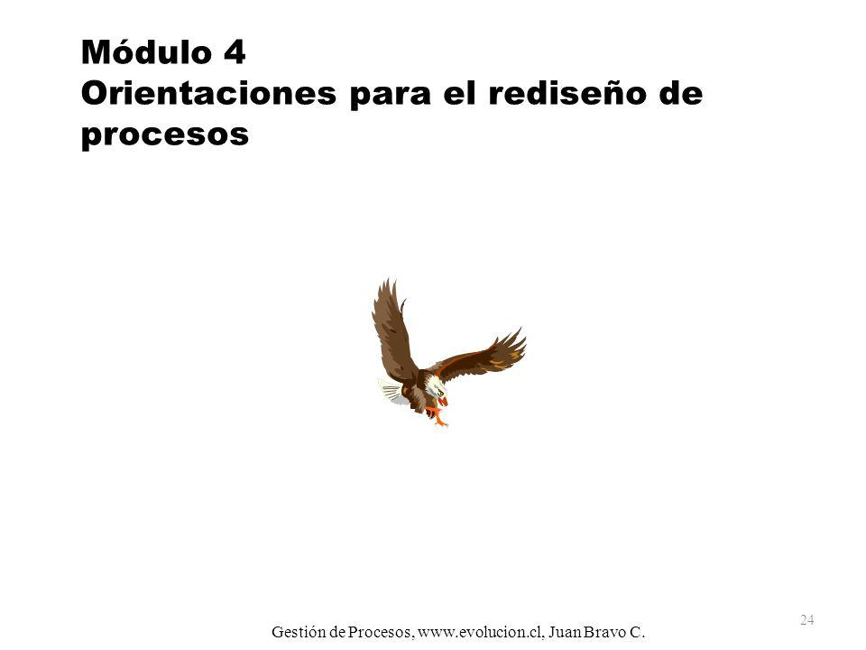 Módulo 4 Orientaciones para el rediseño de procesos