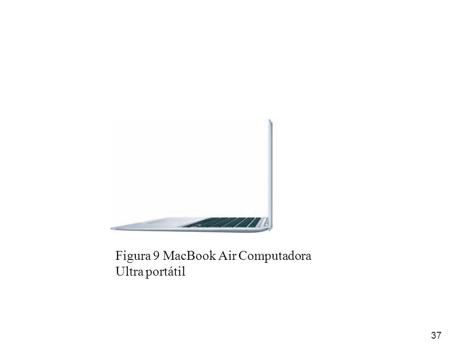Figura 9 MacBook Air Computadora Ultra portátil