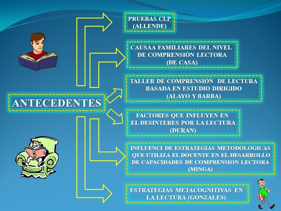 ANTECEDENTES PRUEBAS CLP (ALLENDE) CAUSAA FAMILIARES DEL NIVEL