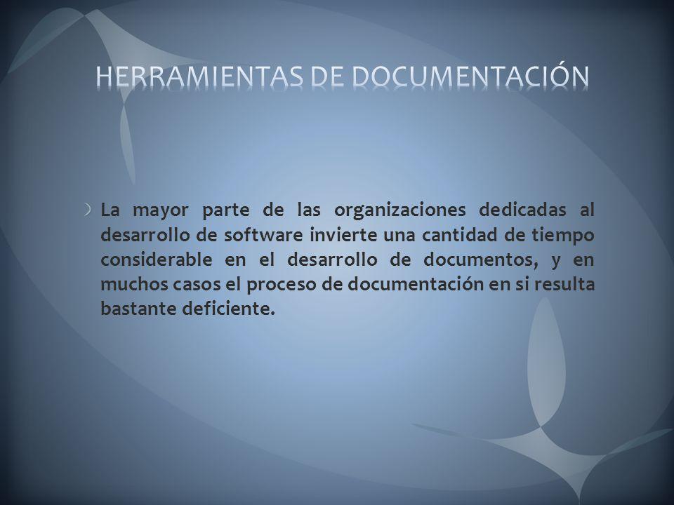 HERRAMIENTAS DE DOCUMENTACIÓN