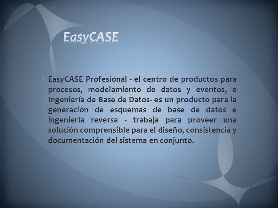 EasyCASE