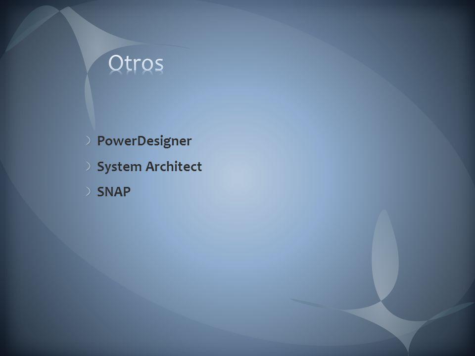 Otros PowerDesigner System Architect SNAP