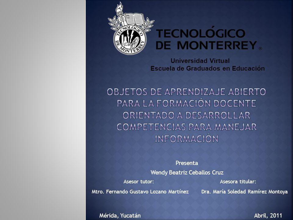Presenta Wendy Beatriz Ceballos Cruz