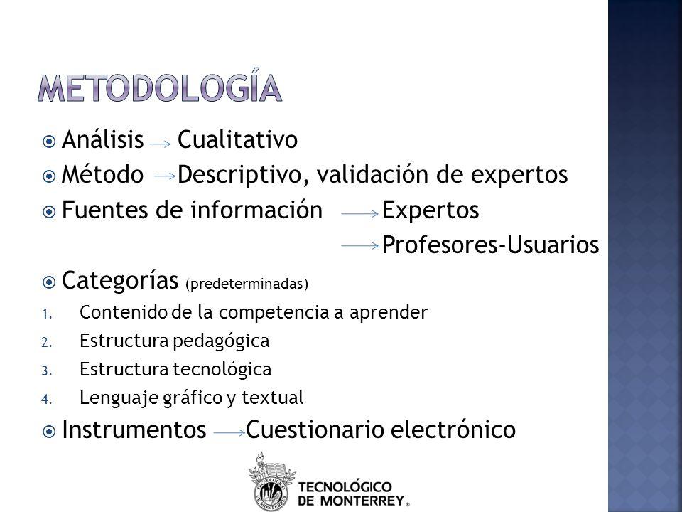 Metodología Análisis Cualitativo