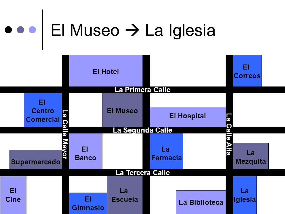 El Museo  La Iglesia El Banco Correos La Mezquita El Hospital