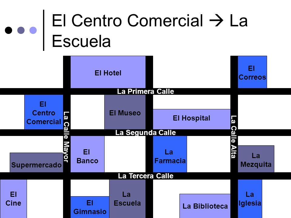 El Centro Comercial  La Escuela