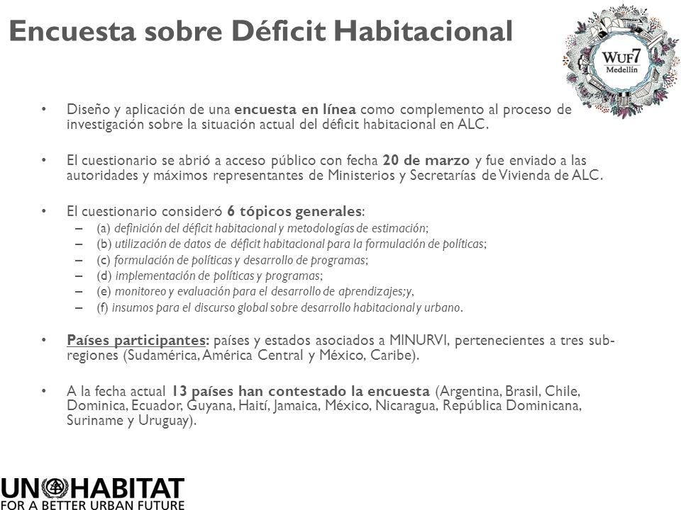 Encuesta sobre Déficit Habitacional